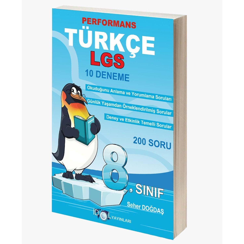 İdol 8.Sınıf Türkçe Performans 10 Lu Deneme