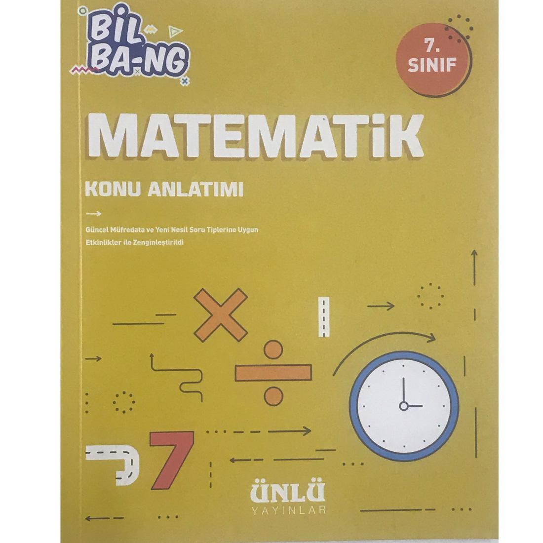 Kültür 7. Sınıf Bil Ba-Ng Matematik Konu Anlatımı