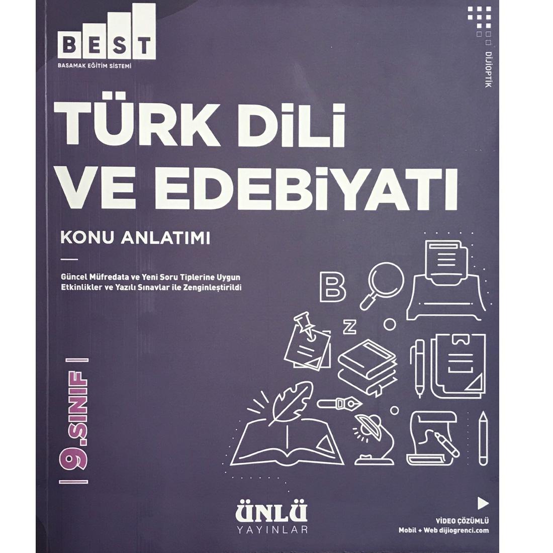 Kültür 9.Sınıf Best Türk Dili ve Edebiyatı Konu Anlatımı