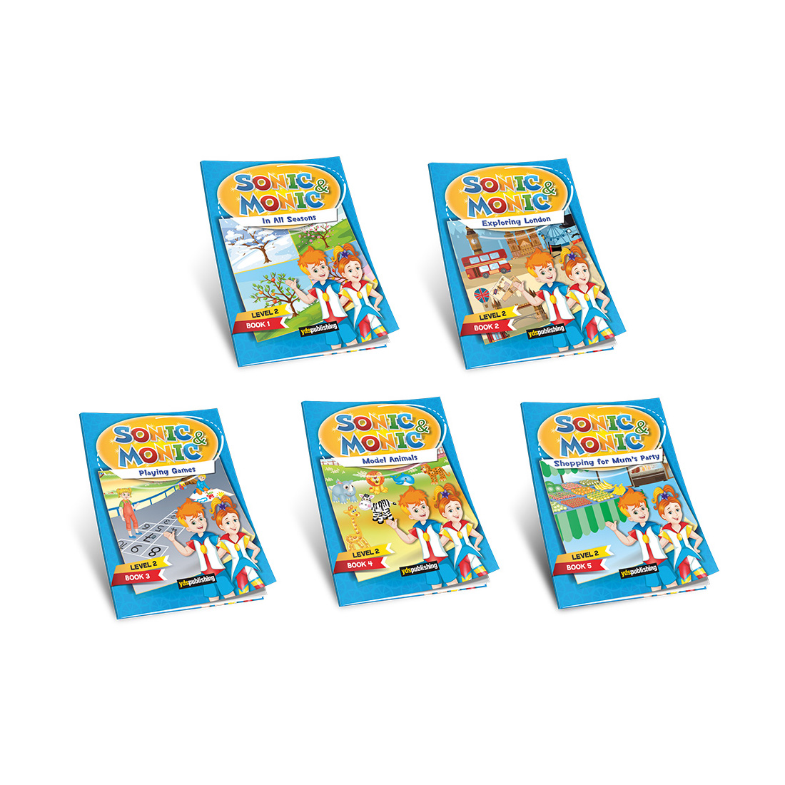 YDS Publishing Sonic&Monic Reader Series 2
