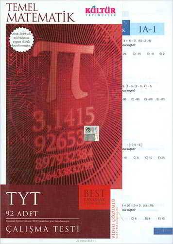 Kültür Yayıncılık TYT Best Temel Matematik Çalışma Testleri