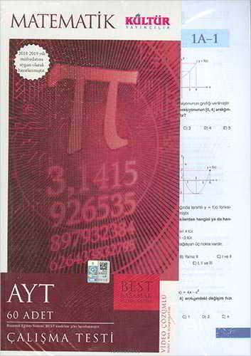 Kültür Yayıncılık AYT Best Matematik Çalışma Testleri