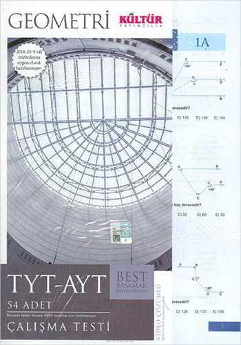 Kültür Yayıncılık TYT-AYT Best Geometri Çalışma Testleri