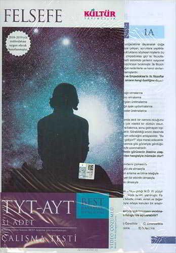 Kültür Yayıncılık TYT-AYT Best Felsefe Çalışma Testleri