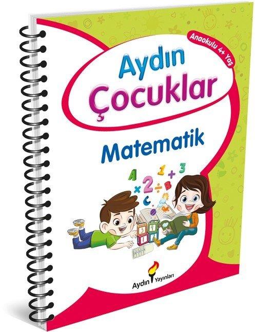 Aydın Çocuklar 4 Yaş Etkinlik Kitabım Temel Matematik Becerilerim
