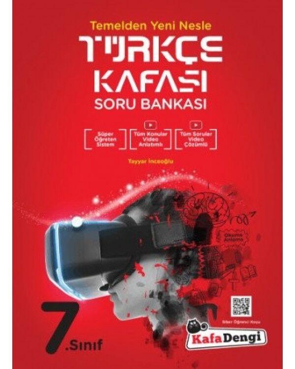 Kafadengi 7.Sınıf Türkçe Kafası Soru Bankası (Tümü Video Çözümlü)