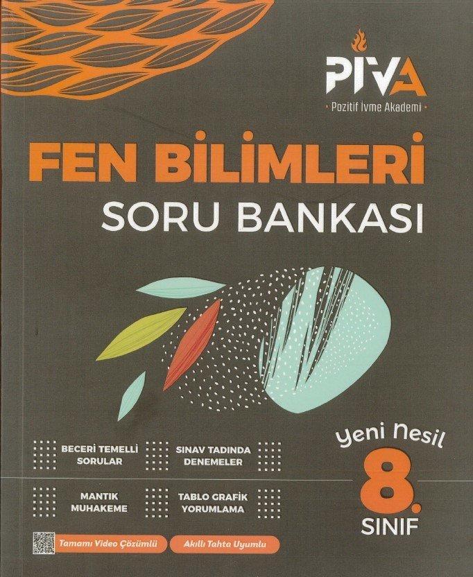 PİVA 8. SINIF FEN BİLİMLERİ SORU BANKASI