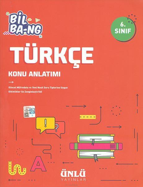 Kültür 6. Sınıf Bil Ba-Ng Türkçe Konu Anlatımı