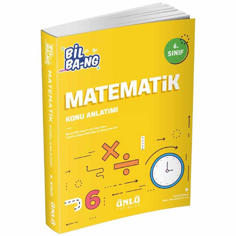 Kültür 6. Sınıf Bil Ba-Ng Matematik Konu Anlatımı