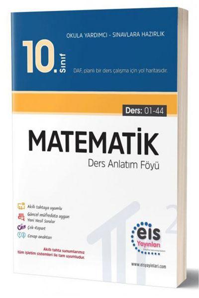 EIS - 10.Sınıf - DAF - Matematik