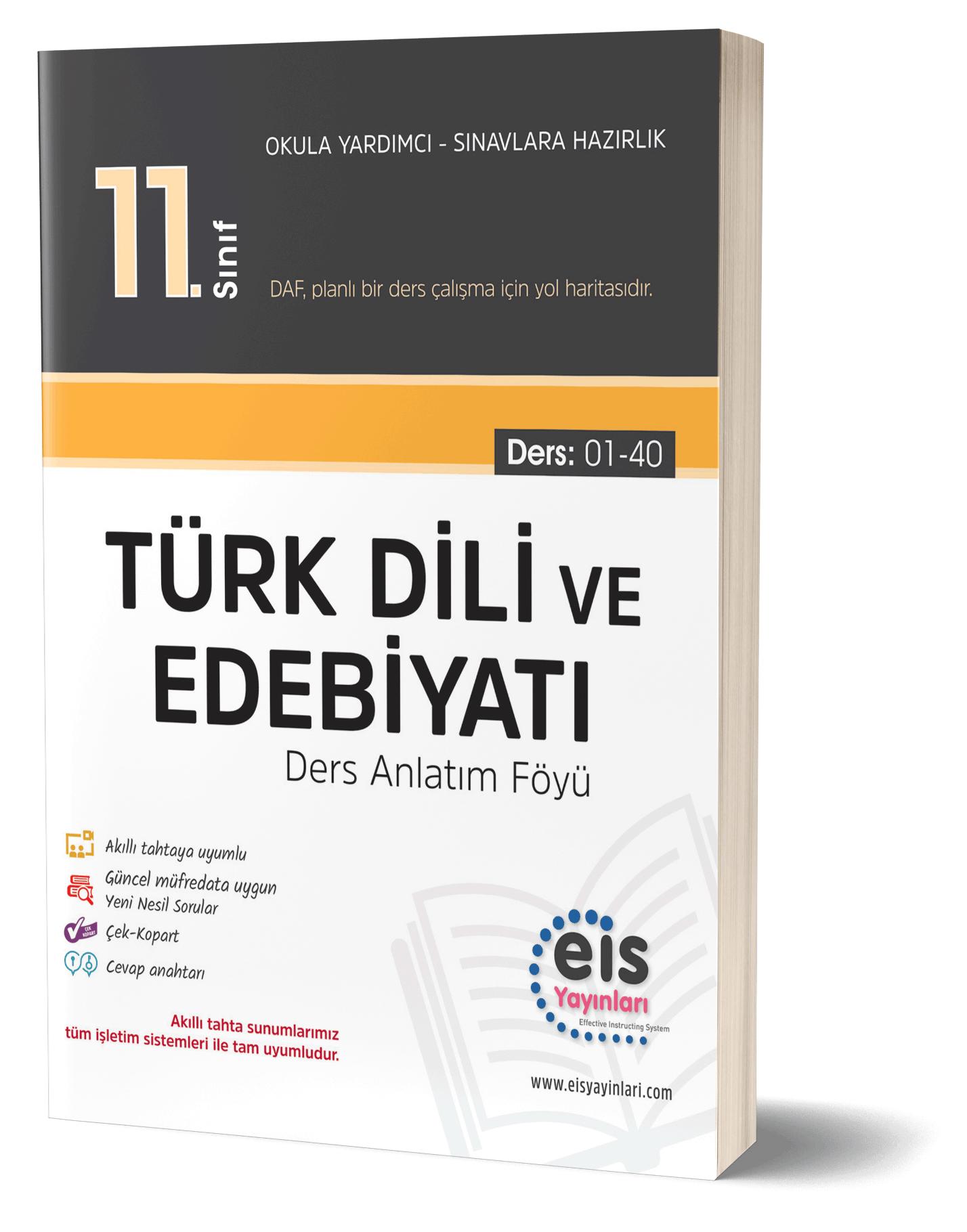 EIS - 11.Sınıf - DAF - Türk Dili Ve Edebiyatı