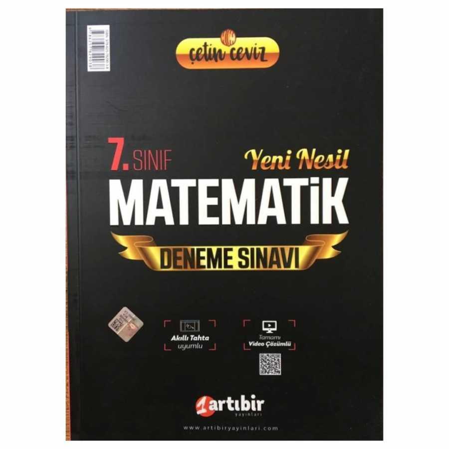 Artıbir 7.Sınıf Çetin Ceviz Omega Matematik Soru Bankası