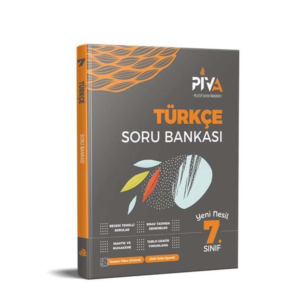 7. Sınıf Türkçe Soru Bankası Piva Yayınları