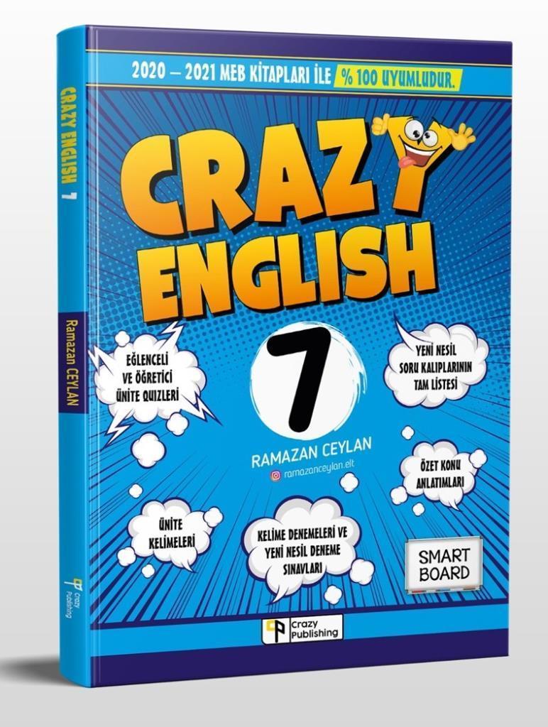 Piva 7. Sınıf Crazy İngilizce Soru Bankası RAMAZAN CEYLAN