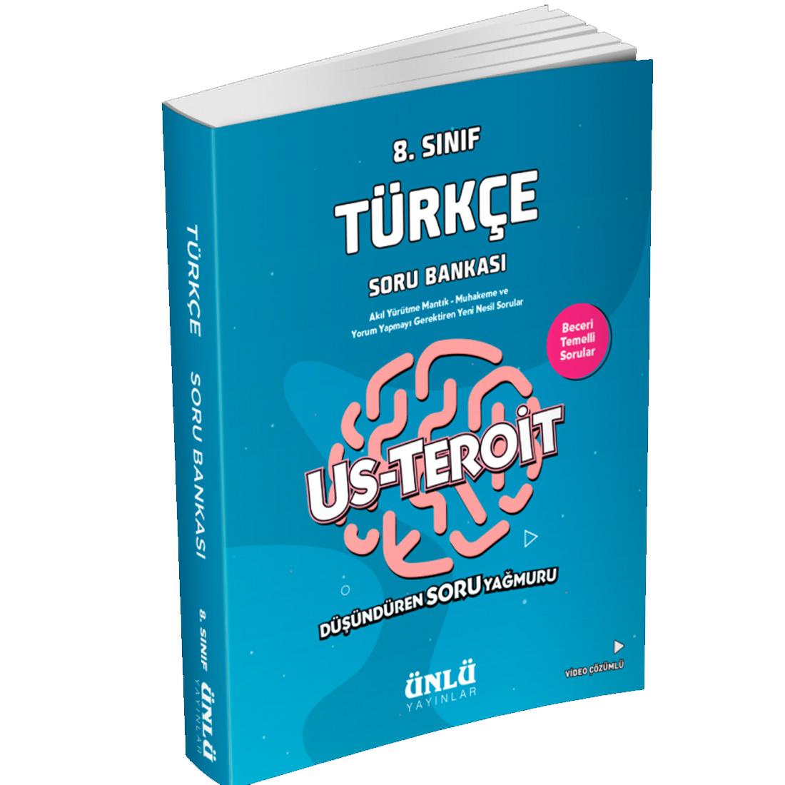8. Sınıf Us Teroit Türkçe Soru Bankası Ünlü Yayınlar