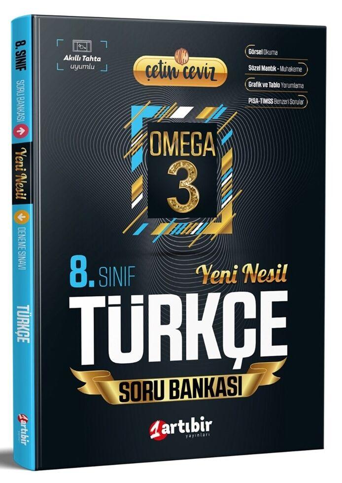 Artıbir 8.Sınıf Çetin Ceviz Omega Türkçe Soru Bankası