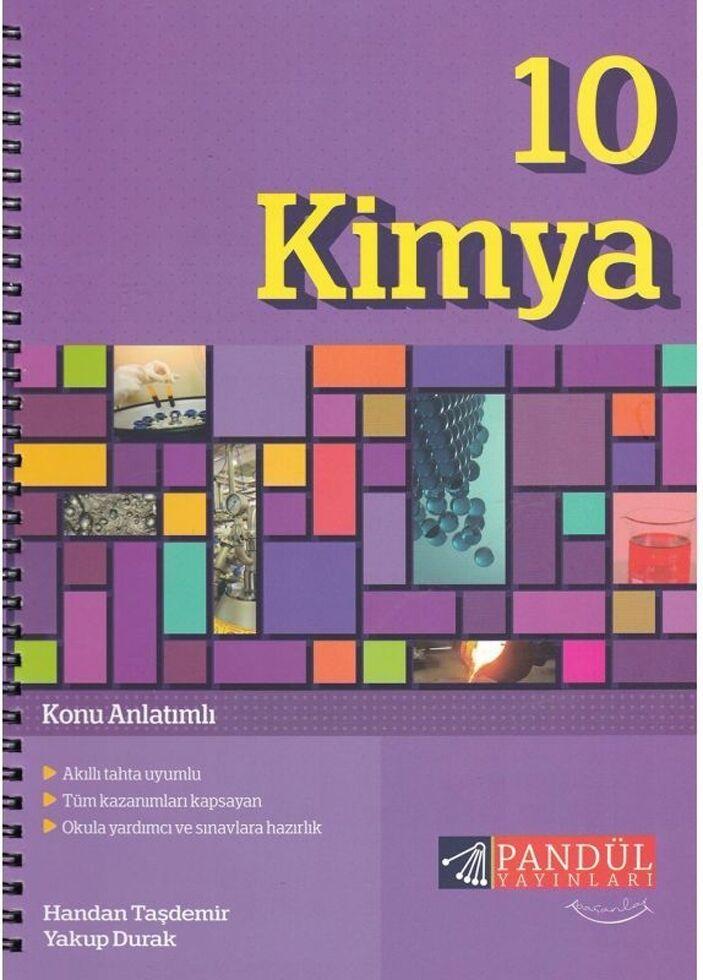 Pandül HTM 10.Sınıf Kimya Def.