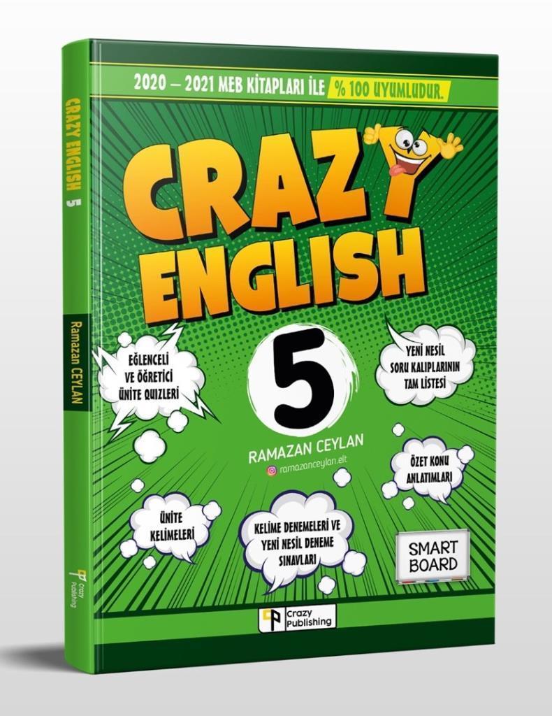 Piva 5. Sınıf Crazy İngilizce Soru Bankası