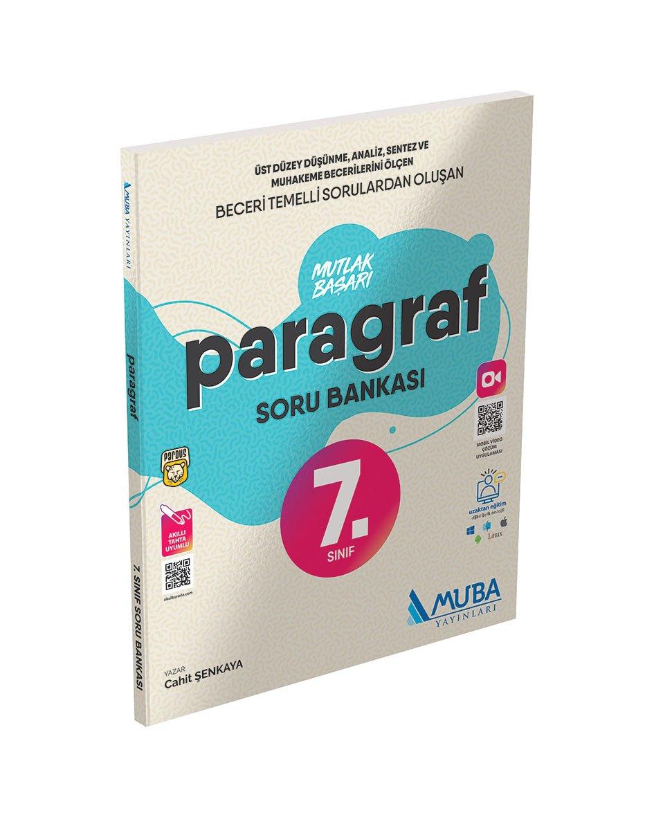 7. Sınıf Paragraf Mutlak Başarı Soru Bankası Muba Yayınları
