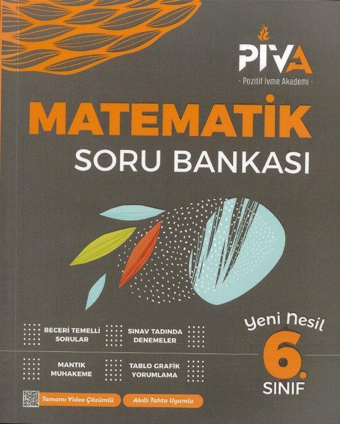 Piva Yayınları 6. Sınıf Matematik Soru Bankası
