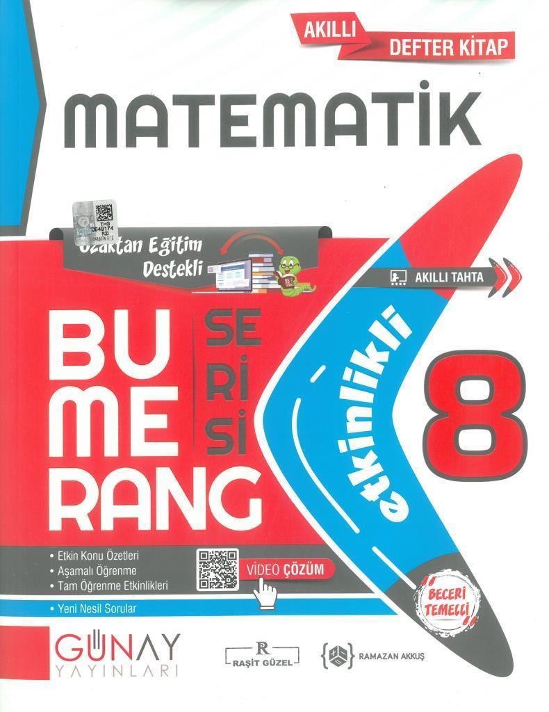 Günay 8.Sınıf Bumerang Etkinlikli Matematik
