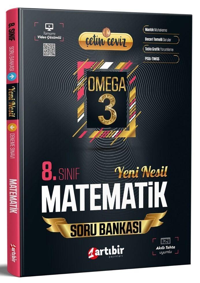 Artıbir 8.Sınıf Çetin Ceviz Omega Matematik Soru Bankası
