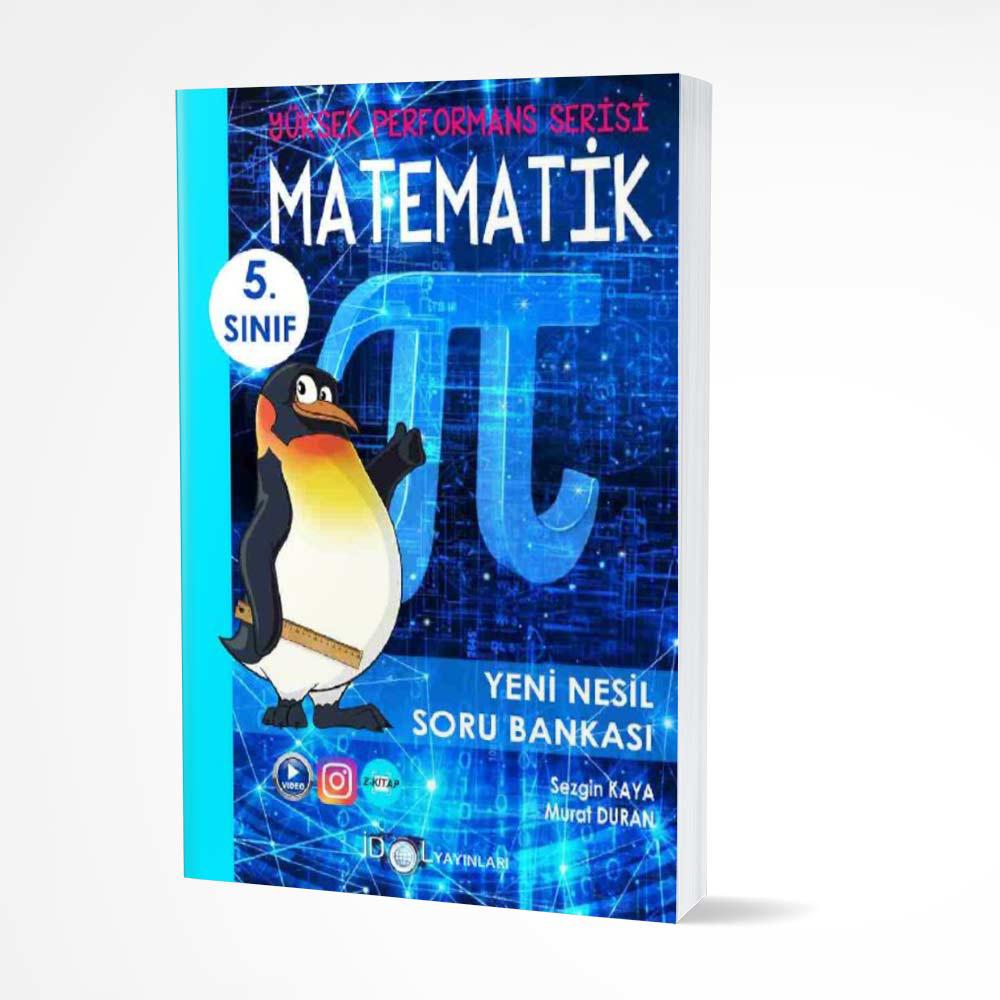 İdol 5. Sınıf Matematik Yeni Nesil Soru Bankası İdol Yayınları
