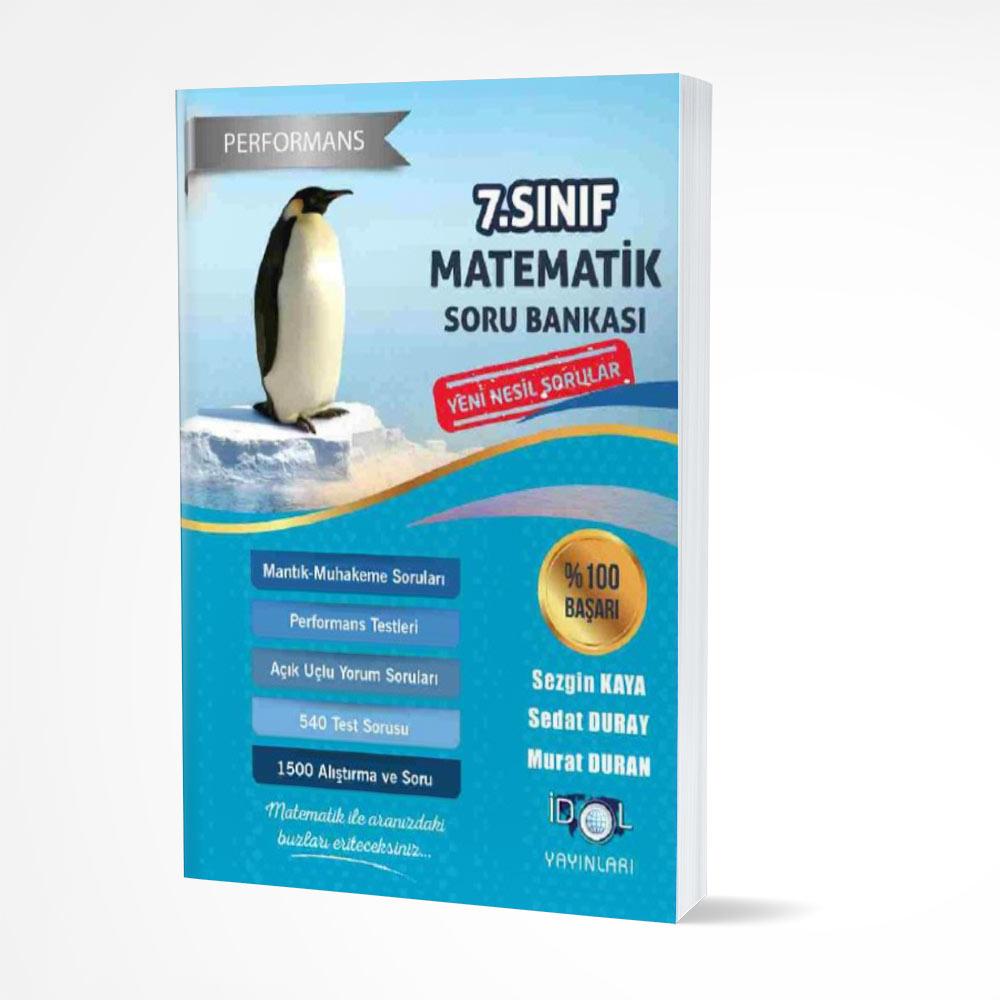 İdol 7. Sınıf Matematik Soru Bankası İdol Yayınları