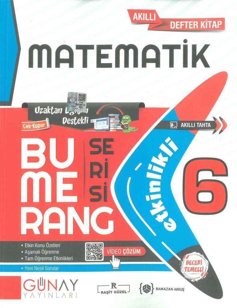 Günay 6.Sınıf Bumerang Etkinlikli Matematik