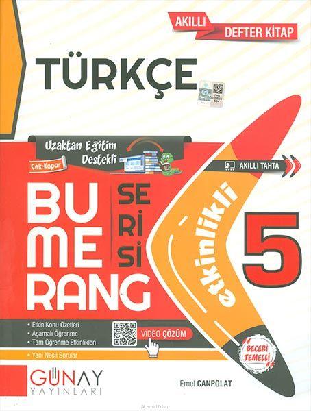 Günay 5.Sınıf Bumerang Etkinlikli Türkçe