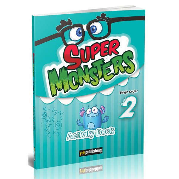 YDS Publishing Super Monsters Grade 2 Activity Book