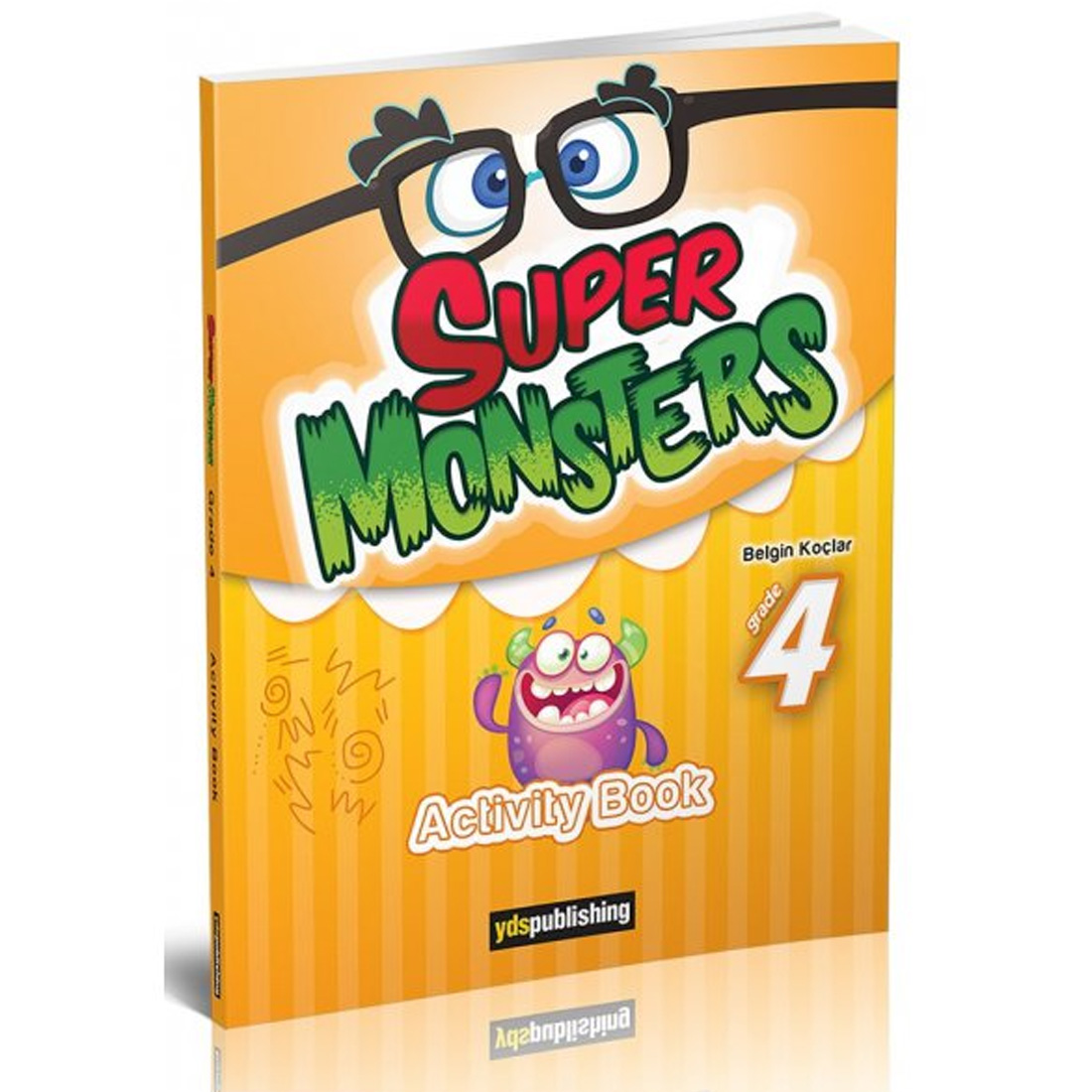 YDS Publishing Super Monsters Grade 4 Activity Book
