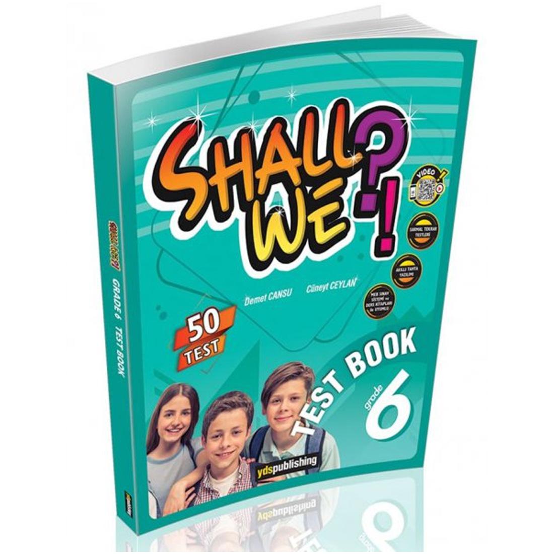 YDS Publishing Shall We?! Grade 6 Test Book