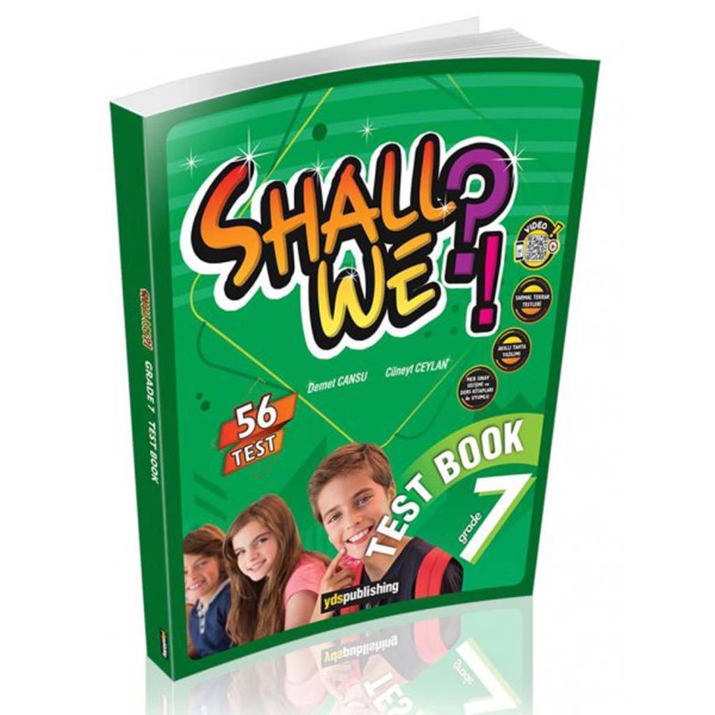 YDS Publishing Shall We?! Grade 7 Test Book