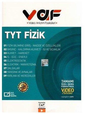 TYT Fizik Video Anlatımlı Fasiküller Çap Yayınları