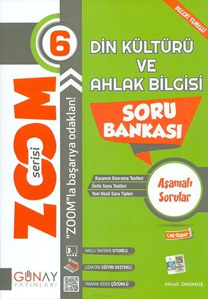 Günay 6.Sınıf Zoom Serisi Din Kültürü Soru Bankası