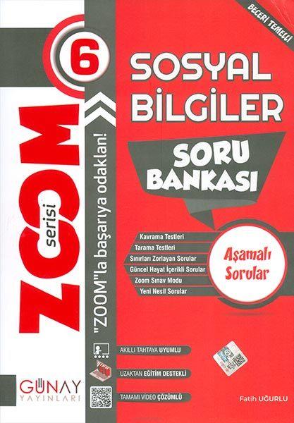 Günay 6.Sınıf Zoom Serisi Sosyal Bilgiler Soru Bankası