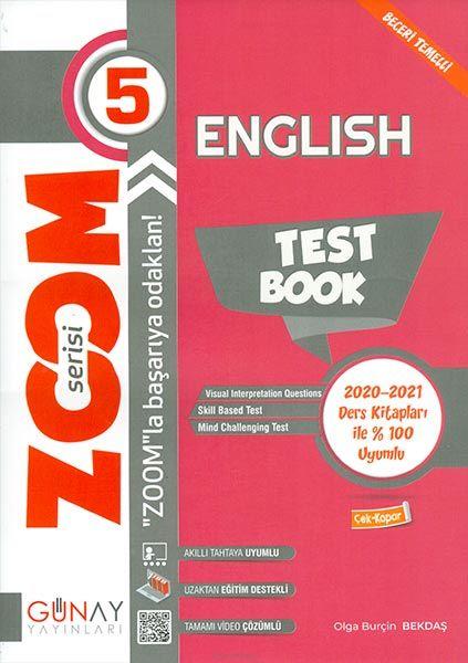 Günay 5.Sınıf Zoom Serisi İngilizce Soru Bankası