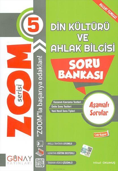 Günay 5.Sınıf Zoom Serisi Din Kültürü Soru Bankası