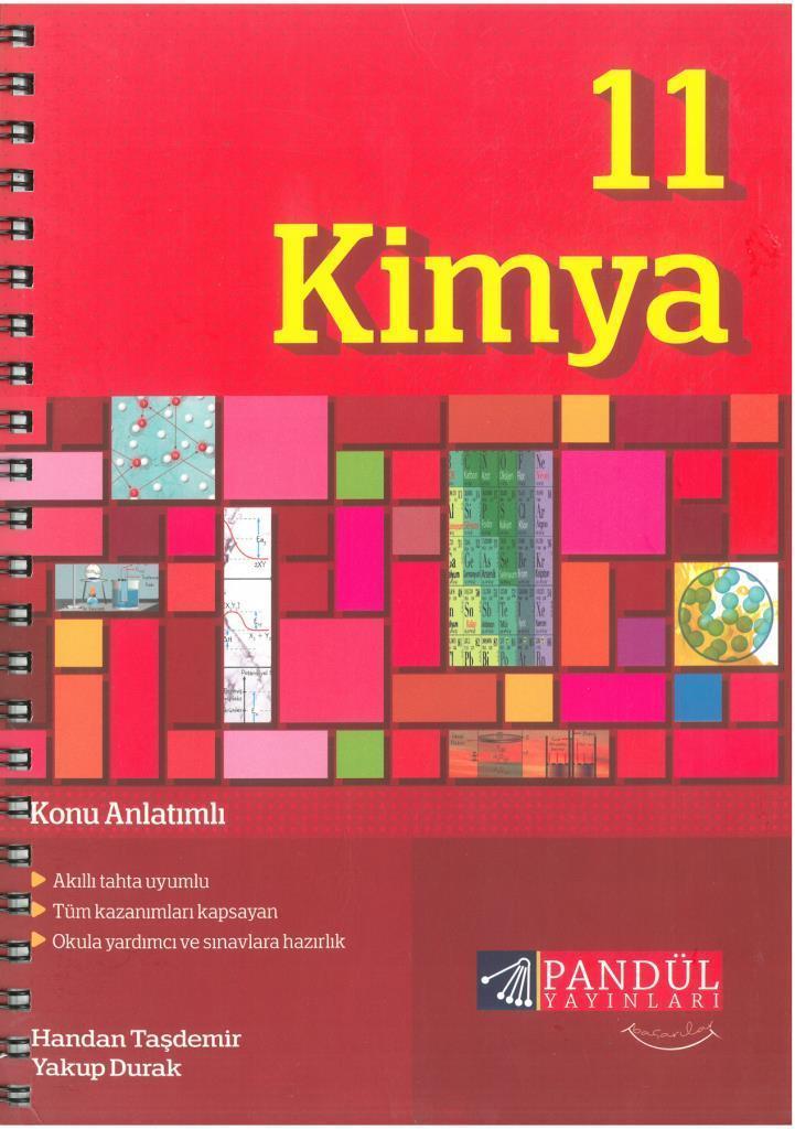 Pandül HTM 11.Sınıf Kimya Def.