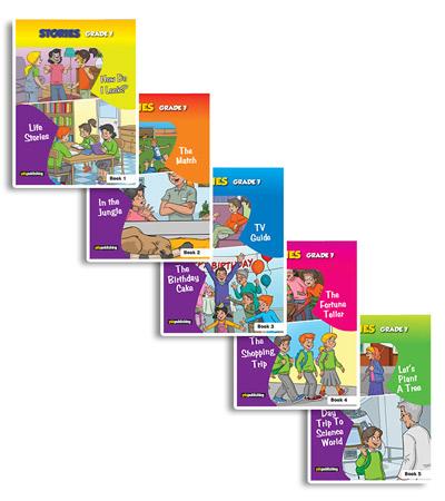 YDS Publishing Stories Grade 7 Paket