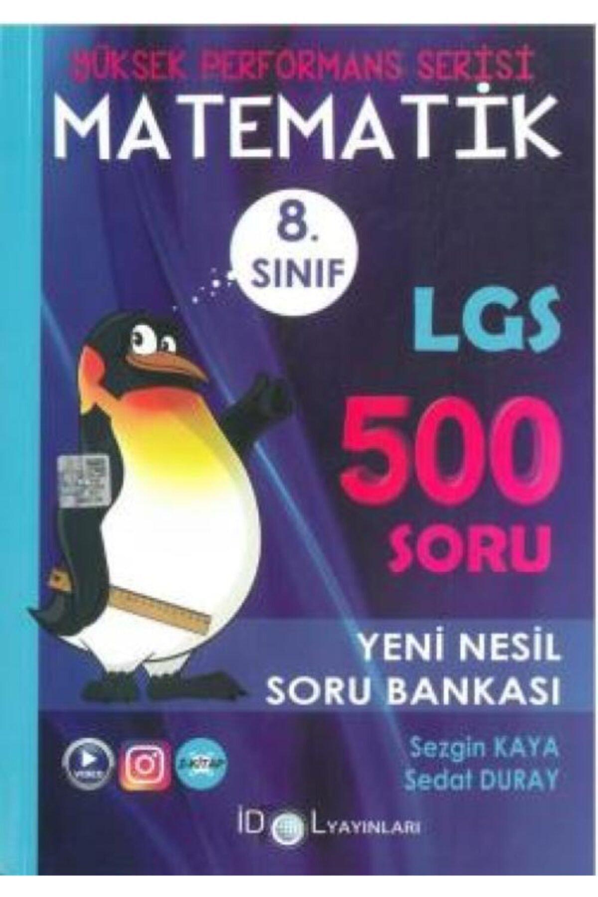İdol Yayınları 8. Sınıf Yüksek Performans Matematik 500 Soru Bankası