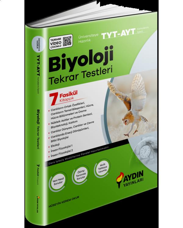 Aydın TYT - AYT Biyoloji Tekrar Testleri