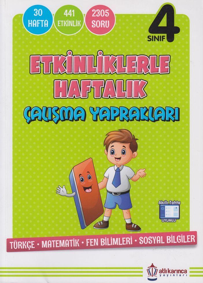 Artıbir - 4. Sınıf Haftalık Kazanım Ödevleri