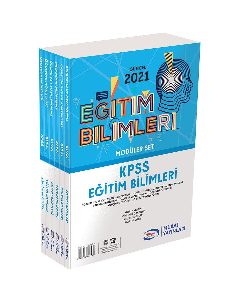 Murat - Kpss Eğitim Bilimleri Konu Anlatımlı Moduler Set ( 6 Kitap )