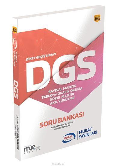 Murat - Dgs Mantık Ve Akıl Yürütme Soru Bankası 2019