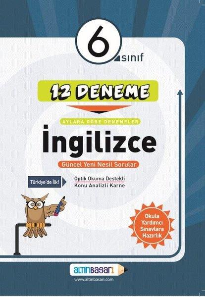 6. Sınıf İngilizce 12 Deneme (Yeni)