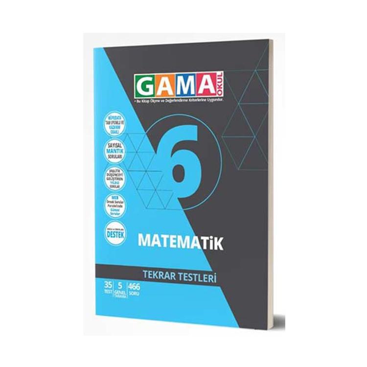 Gama 6.Sınıf Orjin Matematik Destek Soru Bankası