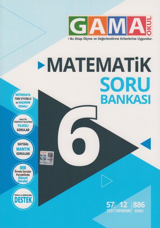 Gama 6.Sınıf Orjin Matematik Konu Özetli Etkinlikli Soru Bankası