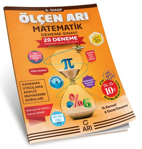 7. Sınıf Ölçen Arı Matematik Deneme Sınavı